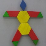 pattern block man